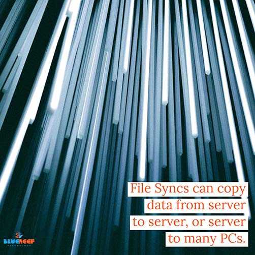 File Sync can go server to server or server to PC