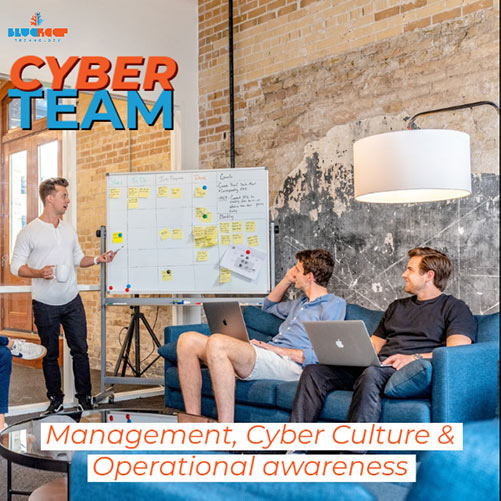 Company culture (and management that helps set this tone) is vitally important to a strong cyber secured company