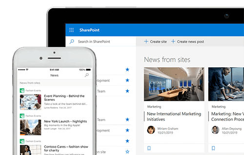 SharePoint Mobile and web.png