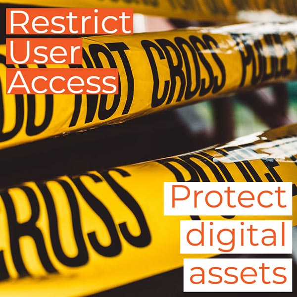 Cyber Safety - Restrict Users and protect your digital assets from hacks or theft.